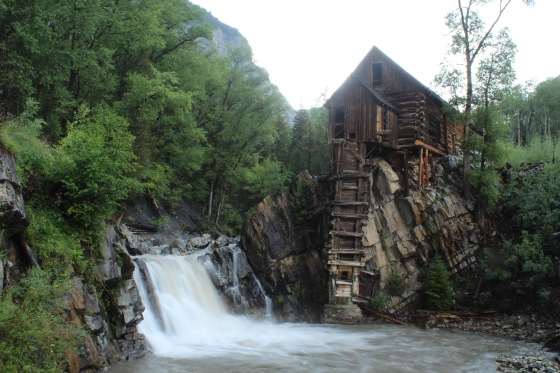 Crystal Mill in Marble, Colorado.